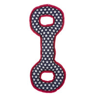 Top Paw Red White Tug Dog Toy