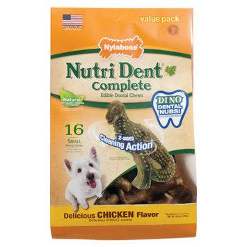 Nylabone Nutri Dent Complete Small Dog Dental Chew - Chicken