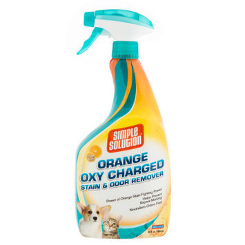 Simple Solution Orange Scented Oxy Charge Stain Odor Remover