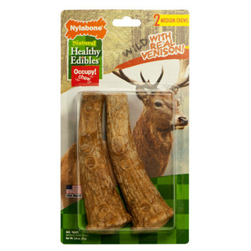 Nylabone Healthy Edibles Dog Treat - Natural, Wild Venison