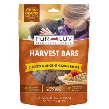 Pur Luv Harvest Bars Dog Treat - Chicken Grains