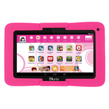 Kurio Xtreme Android Tablet with Pink Bumper