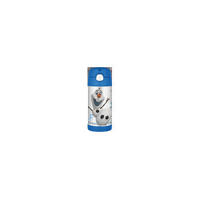 Thermos LLC. Frozen's Olaf 12OZ Stainless Steel Funtainer Straw Bottle