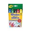 Window Crayons - 5 ct