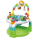 Bright Starts 2-in-1 Laugh & Lights Activity Gym & Saucer, Tan