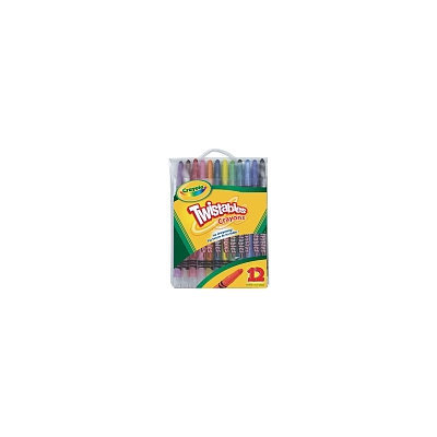 Crayola - Twistables Crayons 12-Pack Pouch
