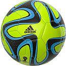 adidas Brazuca 2014 Glider Solar Slime Soccer Ball