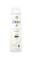 Dove® Invisible Antiperspirant Dry Spray Clear Finish