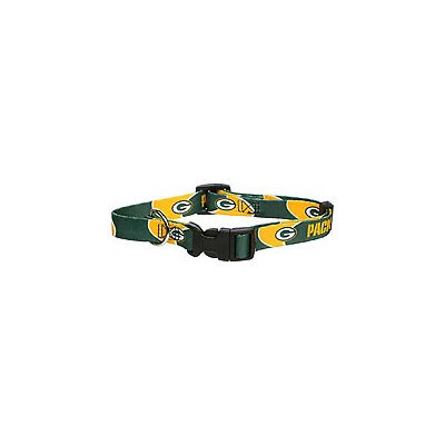 Doggie Nation.com Green Bay Packers Dog Collar Large