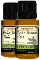 Piping Rock Palo Santo 100% Pure Essential Oil 2 Bottles x 1/2 oz (15 ml)