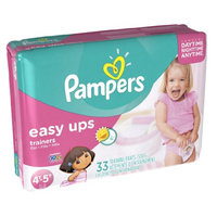 Pampers® Easy Ups™ Training Underwear Girls Size 6 (4T-5T)