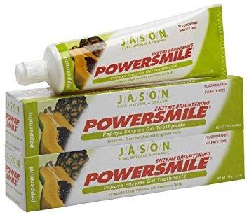 JĀSÖN Powersmile Papaya Enzyme Brightening Gel Toothpaste
