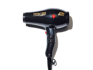 Parlux 385 PowerLight Ceramic Ionic Hair Dryer Black