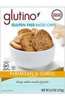 Glutino Parmesan & Garlic Gluten Free Bagel Chips