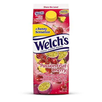 Welch's® Passion Fruit Cherry Refrigerated Cocktail