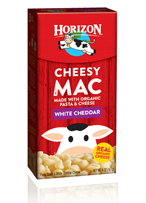 Horizon Pasta Shells & White Cheddar Cheese