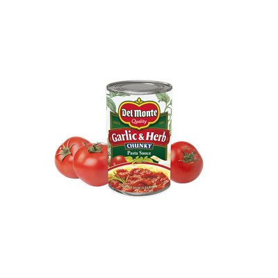 Del Monte® Garlic & Herb Chunky Pasta Sauce