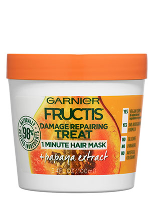 Garnier Fructis Damage Repairing Treat 1 Minute Hair Mask + Papaya Extract
