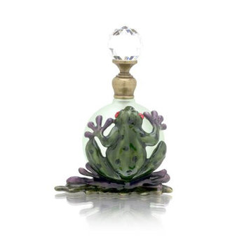 Welforth Perfume Bottle (Frog on Lily Pad) Model No. PB431