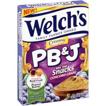 Welch's® Creamy Concord Grape PB&J Snacks