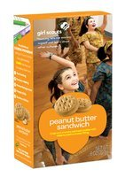 Do-si-dos/Peanut Butter Sandwich Girl Scout Cookies