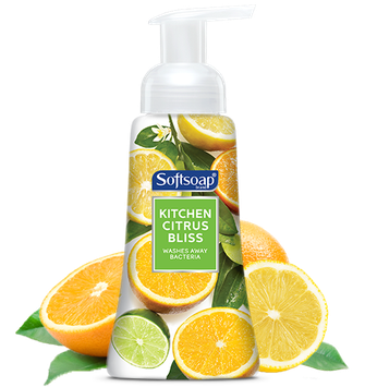 Softsoap® Kitchen Citrus Bliss Foaming Hand Soap