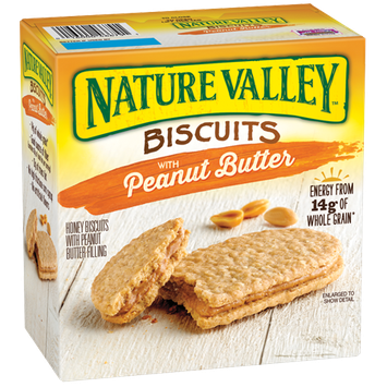 Nature Valley™ Peanut Butter Biscuit Sandwiches
