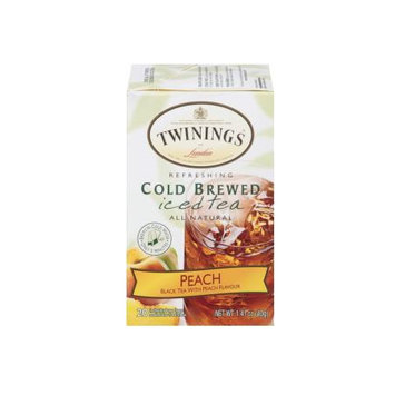 Twinings® of London Peach Cold Brewed Iced Tea