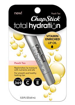 ChapStick® Total Hydration Vitamin Enriched Lip Oil Peach tea