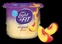 Light & Fit® Peach Nonfat Yogurt