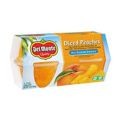 Del Monte® Diced Peaches No Sugar Added