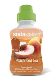 SodaStream Peach Iced Tea Soda Mix Syrup