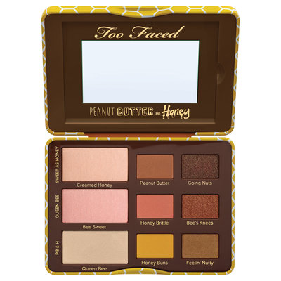 Too Faced Peanut Butter And Honey Eye Shadow Collection