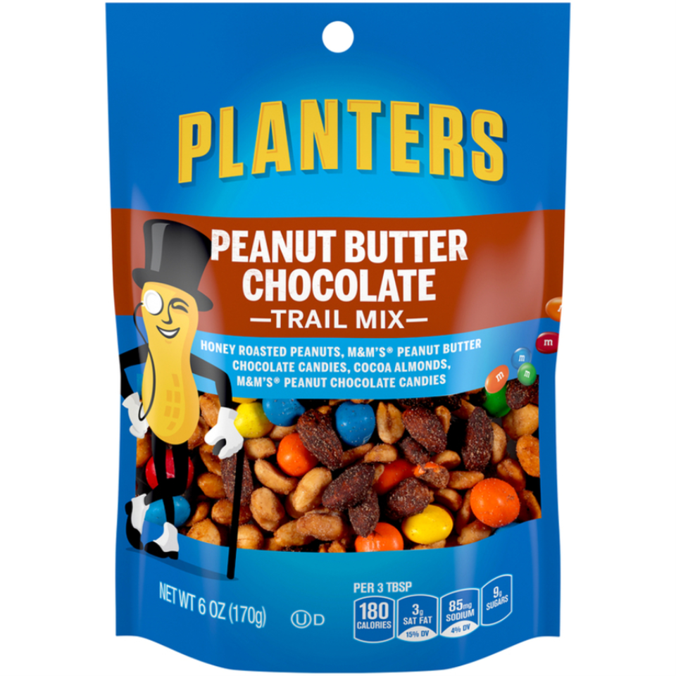Planters Trail Mix Peanut Butter Chocolate Bag