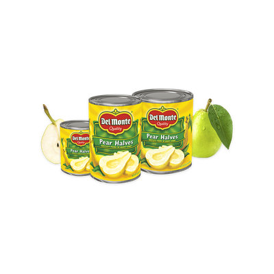 Del Monte® Bartlett Pear Halves in Heavy Syrup