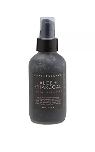 Pearlessence Aloe + Charcoal Facial Cleanser