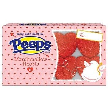 Peeps Marshmallow Hearts