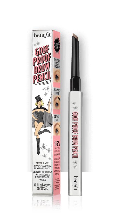Benefit Cosmetics Goof Proof Eyebrow Pencil Travel Size Mini In 03 - Medium