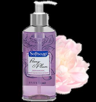 Softsoap® Peony & Plum Liquid Hand Soap