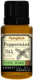 Piping Rock Peppermint Essential Oil 1/2 oz 100% Pure Oil Therapeutic Grade