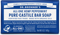 Dr. Bronner's All-One Hemp Peppermint Pure-Castile Bar Soap