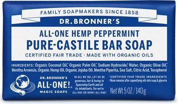 Dr. Bronner's All-One Hemp Peppermint Pure-Castile Bar Soap