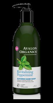 Avalon Organics Revitalizing Peppermint Glycerin Hand Soap