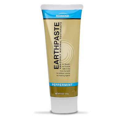 Redmond Earthpaste Amazingly Natural Toothpaste Peppermint