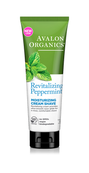 Avalon Organics Revitalizing Peppermint Moisturizing Cream Shave