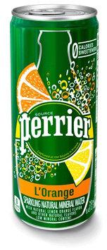Perrier L'Orange Sparkling Natural Mineral Water