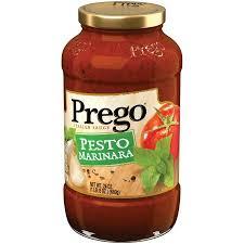 Prego® talian Sauce Pesto Marinara
