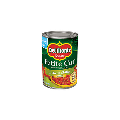 Del Monte® Petite Cut Diced Tomatoes with Green Chilies
