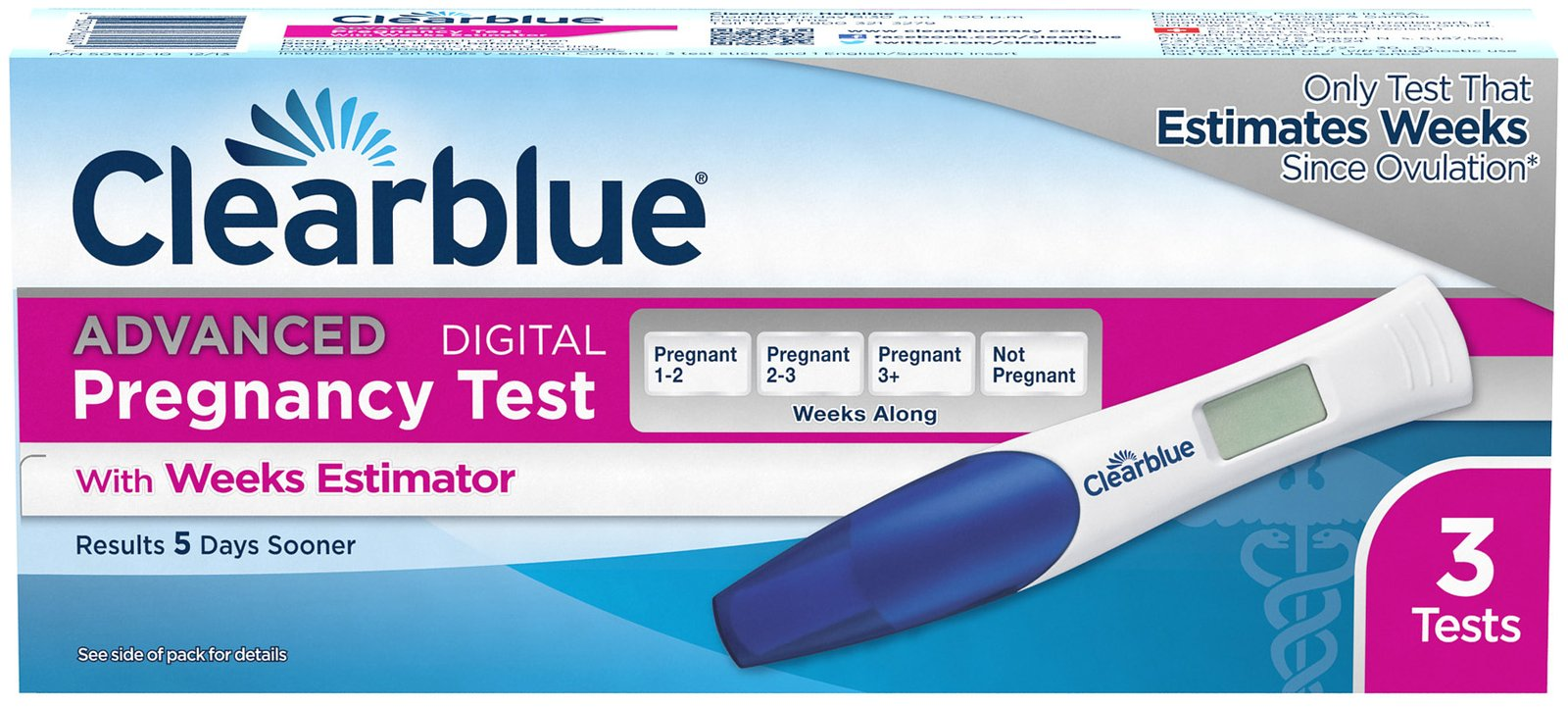 Clearblue Advanced Pregnancy Test With Weeks Estimator Reviews 2020