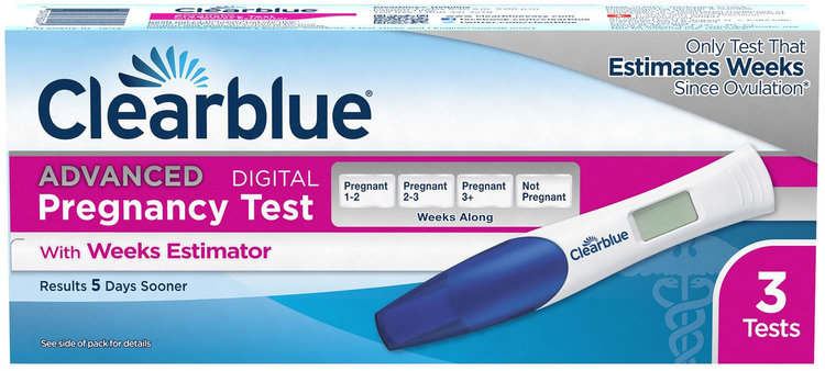 Clearblue Advanced Pregnancy Test With Weeks Estimator Reviews Page 2